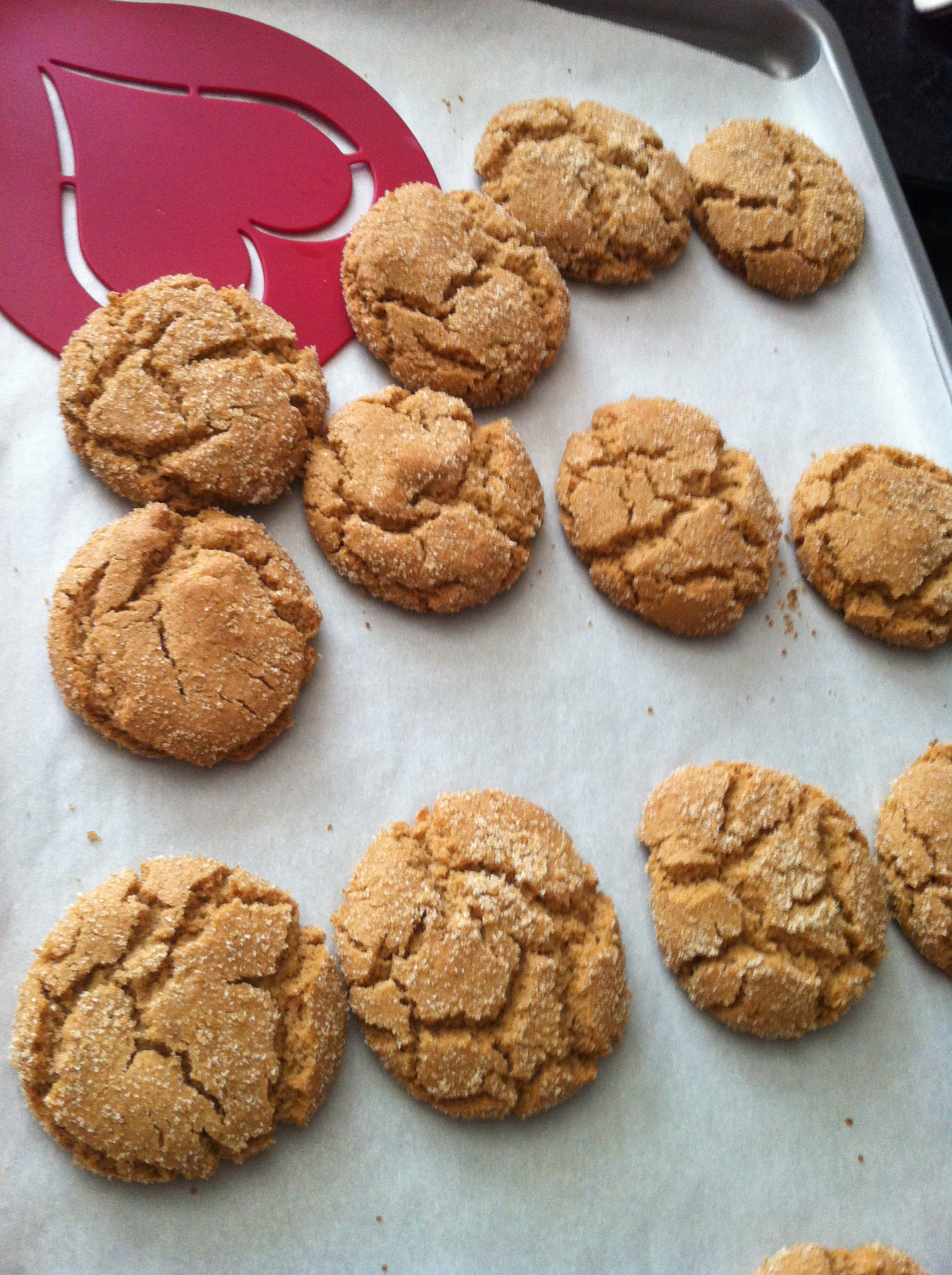 Brown Sugar Crinkle Cookies | The Pink Gourmet